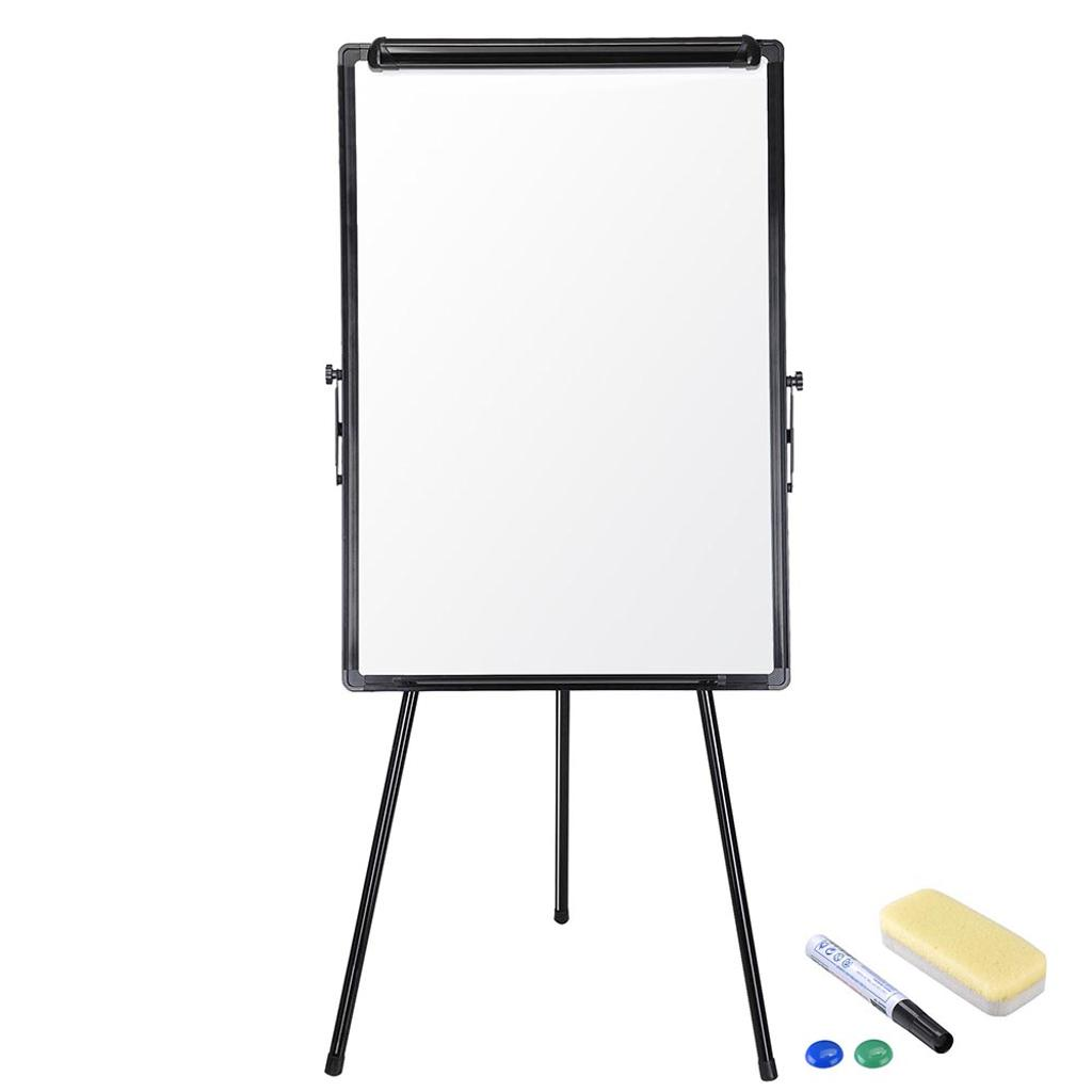"Yescom 24""x36"" Magnetic Writing Whiteboard Dry Erase Aluminum Frame with Height Adjustable Tripod Stand"