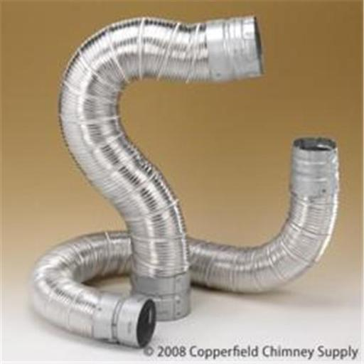 M & G Duravent 6DV60 6 Inch x 60' Dura-Connect Gas Connector Pipe .012 Inch Bendable Aluminum Pipe