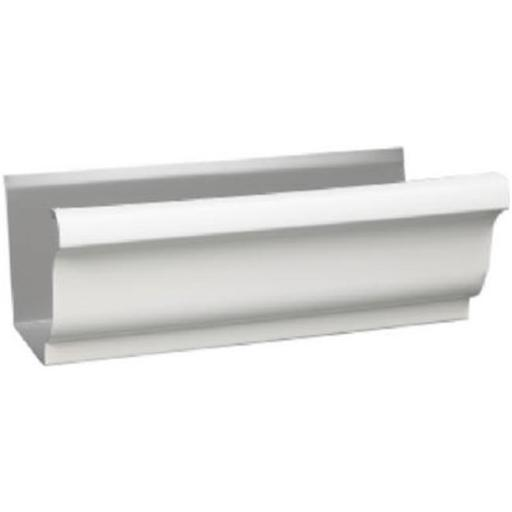 Amerimax Home Products 1800700120 4 in. White Standard Steel Gutter - Pack of 10