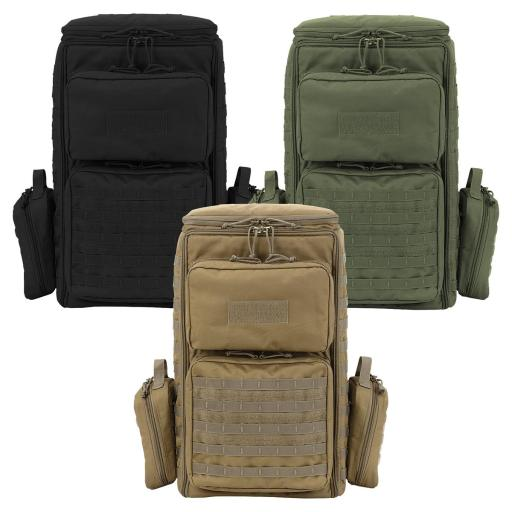 Voodoo Tactical 15-9047 RPG Pack, Range Bag, MOLLE, 2 Detachable Pouches