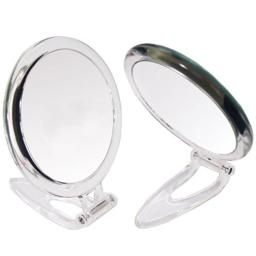 10x and 1x Magnification Acrylic Round Foldable Stand Mirror