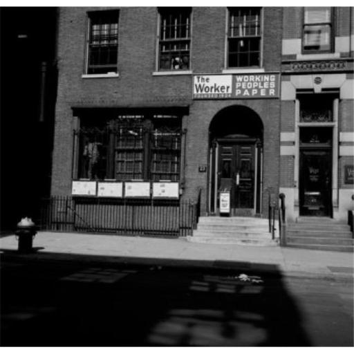 Posterazzi SAL255422018 USA New York City Home of the Worker American Communist Party Newspaper the Building Houses the Offices of the Poster Print -