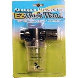 Gatsby Leather 284276 EZ Wash Wand Dispenser - Black