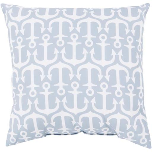 Surya RG117-2626 Rain 26 x 26 x 5 in. Throw Pillow, Grey - Large