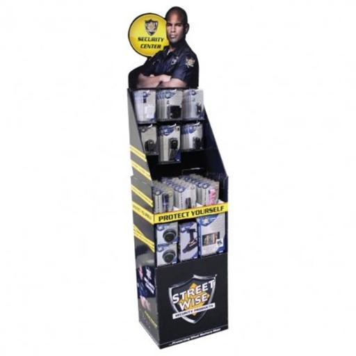 Streetwise Security Products SWFD66 Streetwise 66 Inch Floor Display