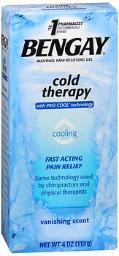 Bengay Cold Therapy Gel - 4 Oz, Pack Of 4