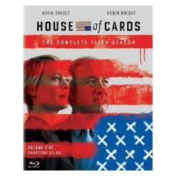 House of cards-complete fifth season (blu ray) (uv/4discs) BR050694