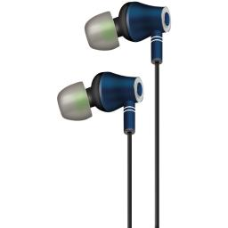 At&t(r) E10-nvy E10 Metallic Stereo Earbuds With Microphone