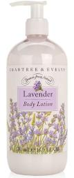 Crabtree & Evelyn Lavender Body Lotion 16.9 Oz