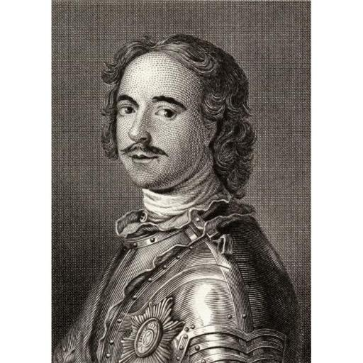 Posterazzi DPI1859703LARGE Peter The Great Or Peter I 1672-1725 Tsar of Russia 1682-1725 19th Century Poster Print, Large - 24 x 34
