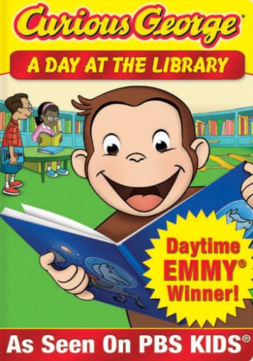 Curious george-day at the library (dvd) (eng sdh/ws) I8QNITCQXKAVONSI