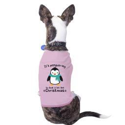 It's Penguin-Ing Humorous Gift For Christmas Funny Pet Shirt Pink