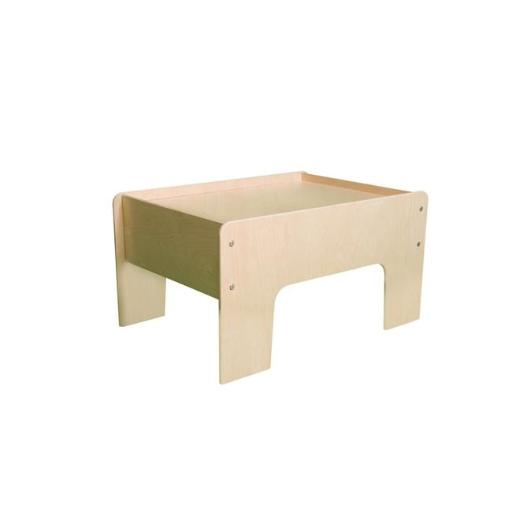 Little Colorado 031NA Half Play Table, Natural