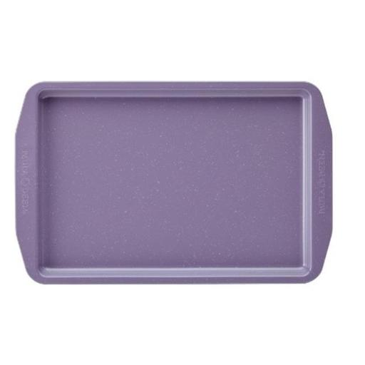 Paula Deen 46253 Speckle Nonstick Bakeware 11 x 17 in. Cookie Pan, Lavender Speckle