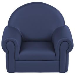 Early Childhood Resources ELR-15654-NV Soft Zone Little Lux Toddler Chair, Navy