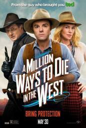 A Million Ways to Die in the West Movie Poster (11 x 17) MOVAB91045