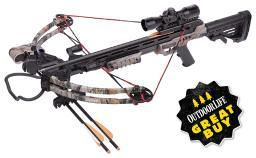 Center point  center point sniper camo compound crossbow