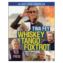 Whiskey tango foxtrot (blu ray/dvd w/digital hd combo) BR59177678