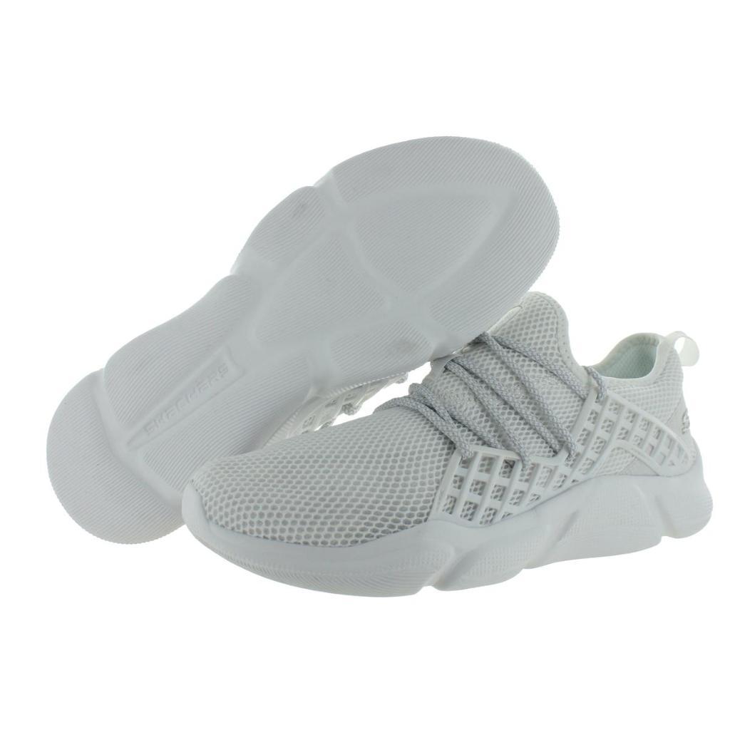 Skechers Mens Drafter Havenedge Mesh Lace Up Sneakers