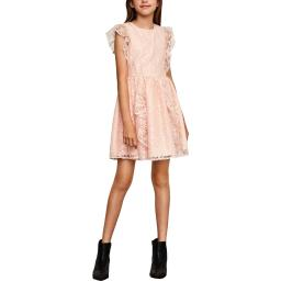 BCBGirls Womens Girls Lace Party Dress