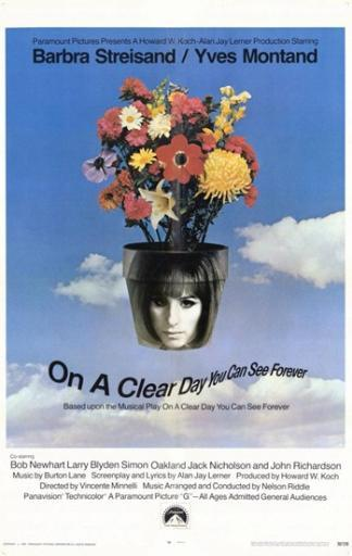 on a Clear Day You Can See Forever Movie Poster (11 x 17)