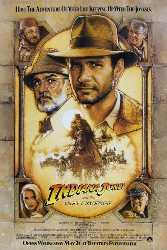 Indiana Jones And The Last Crusade Fine Art Print RDYRWICP3F4SKVR0