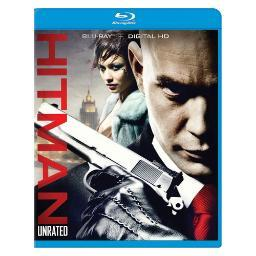 Hitman (2008/blu-ray/unrated/re-pkgd) BR2302359