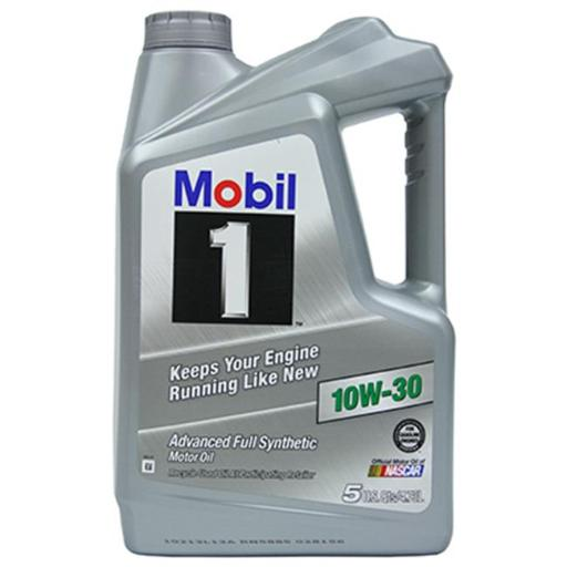 Mobil MO03135Q 5.1 Quart 10W30 Synthetic Motor Oil, Pack of 4