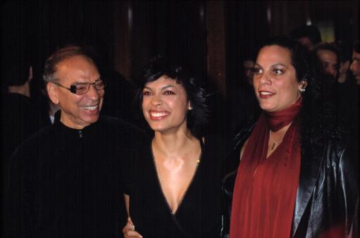 Rosario Dawson With Her Parents At The Premiere Of Sidewalks Of New York, Ny 11152001, By Cj Contino Celebrity