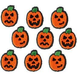 Dot Matrix Icing Decorations 12/Pkg-Jack-O-Lantern W7106026