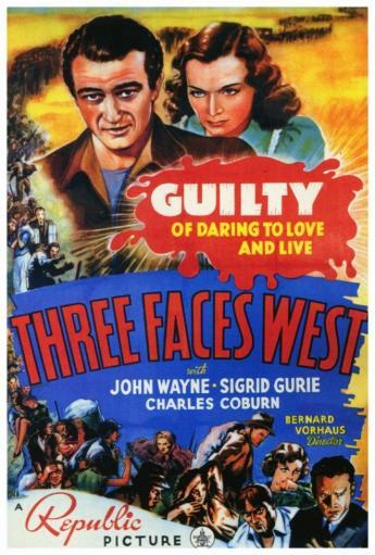 Three Faces West Movie Poster Print (27 x 40) REE04NOKXBS6YBRT
