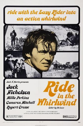 Ride In The Whirlwind Us Poster Art Jack Nicholson 1965 Movie Poster Masterprint PENR1TGNBQXTUNNG