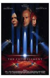The Fifth Element Movie Poster (11 x 17) MOV190160
