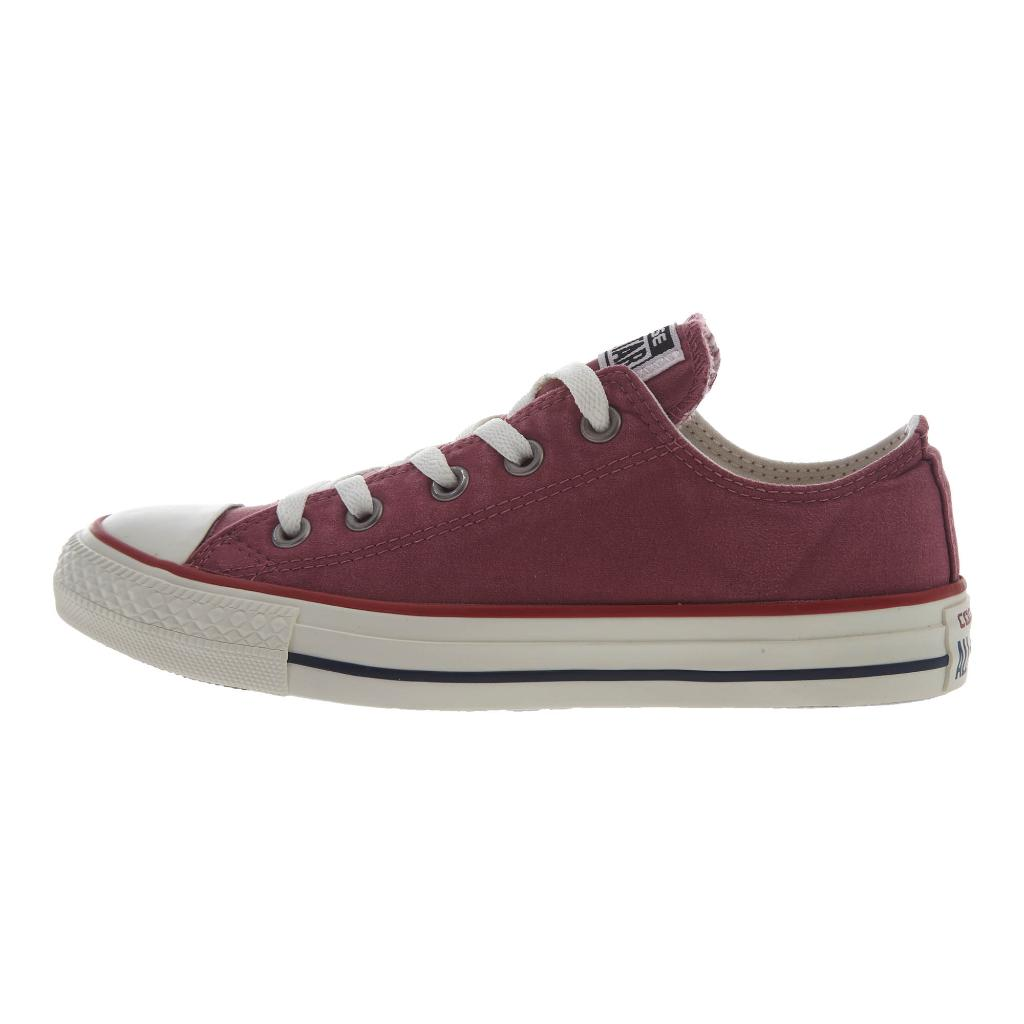 Converse  Chuck Taylor All Star Ombre Wash Low Top  Unisex Style : 157642f-Port/Garnet/Egret