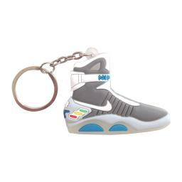 Marty Mcfly Self Lacing Sneaker Keychain Back To The Future 2 Nike Air Mag II