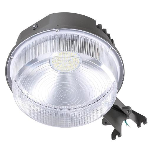 Yescom 50W LED Barn Light with Photocell 6250lm IP65 5000K ETL Dusk to Dawn Outdoor Security Wet Location Available