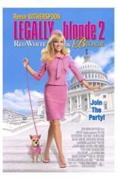 Legally Blonde 2 Red White Blonde Movie Poster (11 x 17) MOV213889