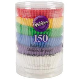 Standard Baking Cups Rainbow 150/Pkg