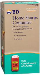 Bd Home Sharps Container - Each, Pack Of 4