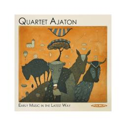Alba dowland / quartet ajaton early music in the latest way compact discs lba458.2