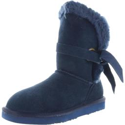 Lamo Womens Medora Suede Cold Weather Winter Boots