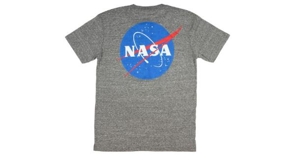 4233a69f6ed Mad Engine NASA Mens Front And Back Meatball Logo T-Shirt ...