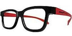 XPAND - Passive Universal 3D Glasses - Black/Red PG50POLR