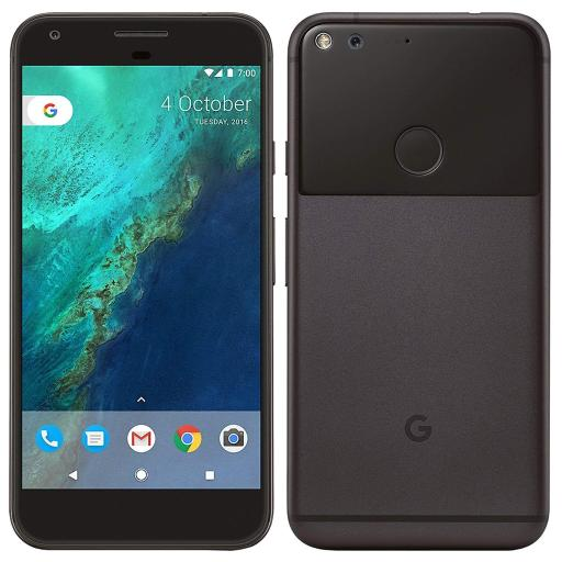 Google Pixel XL Phone 128GB - 5.5 inch display (Black) (Certified Refurbished)