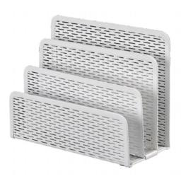 Artistic ART20003WH Urban Collection Punched Metal Letter Sorter, White