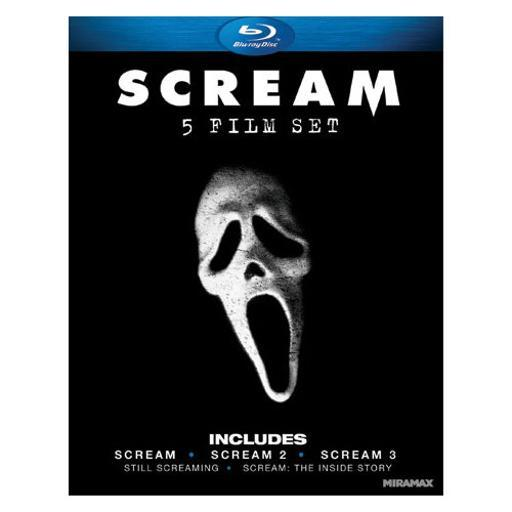 Scream 1-3 gift set (blu ray) (ws/eng/eng sub/span sub/eng sdh/5.1dts/4disc WOHCCUE91XUY82VD