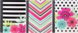 """Studio C Composition Book 9.75""""x7.5"""" 100 Sheets-sugarland, Wide Rule, Assorted Colors"""