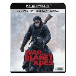 War for planet of the apes (blu-ray/4k-uhd/digital hd) BR2332281