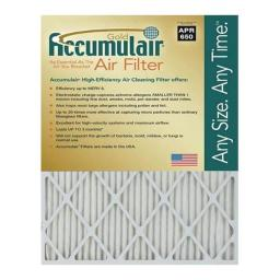 Accumulair FB19X20A 19 x 20 x 1 in. MERV 8 Actual Size Gold Filter FB19X20A