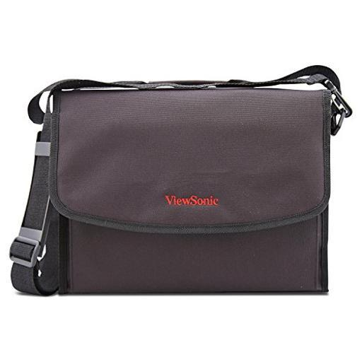 Viewsonic Pj-Case-009 Projector Soft Carrying Case. Black Color. Compatible With Lightstream, Pjd5/6/7